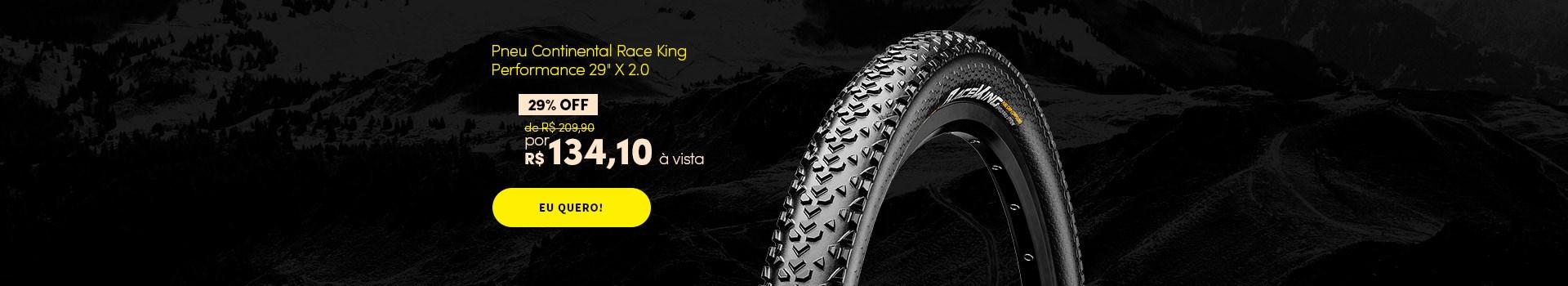 "Promoção Pneu Continental Race King  Performance 29"" X 2.0"