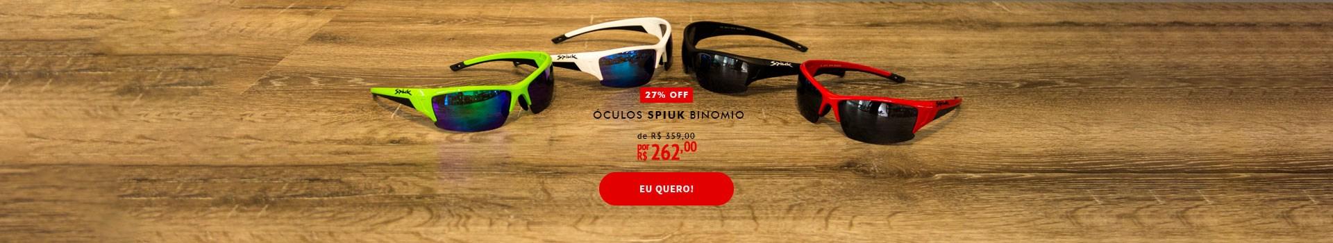 Óculos Ciclismo Spiuk Binomio em promoção