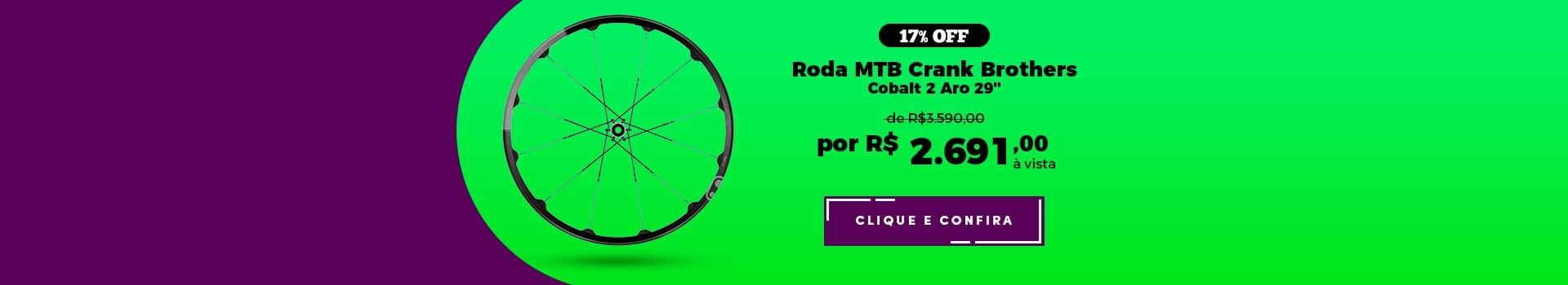 "Roda Bike MTB Crank Brothers Cobalt 2 Aro 29"" em promoção"
