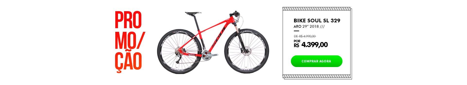 Bike Soul SL 329 em promoção