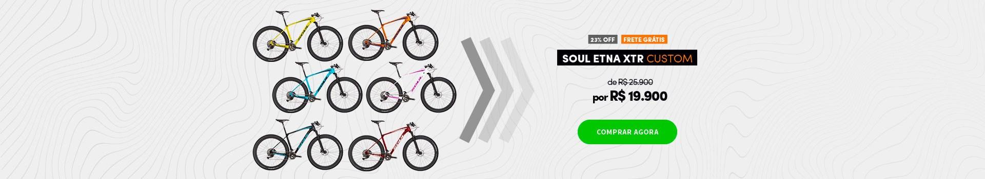 """Soul Etna XTR Carbono aro 29"""" 2018 Customizável em promoção"""