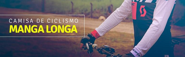 Camisa Ciclismo Manga Longa