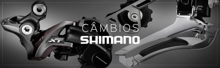Câmbios Shimano para Bike