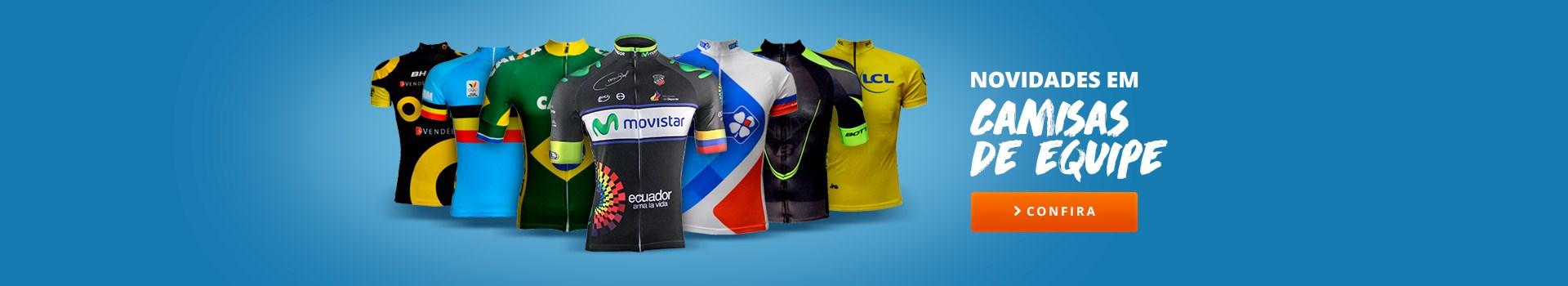 Camisas de ciclismo de Equipe