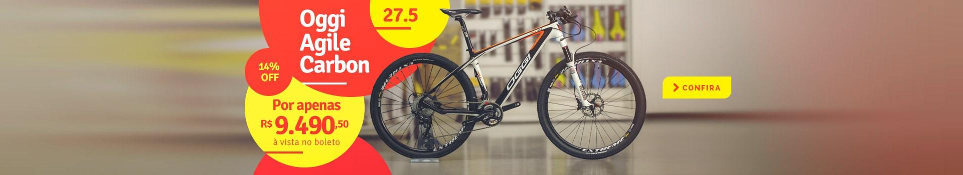 "Bike OGGI Agile Carbon aro 27.5"""