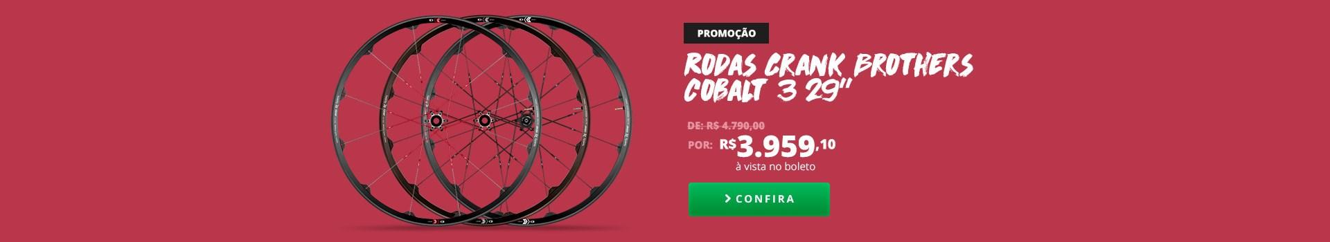 """PROMOÇÃO Rodas Crank Brothers Cobalt 3 29"""""""