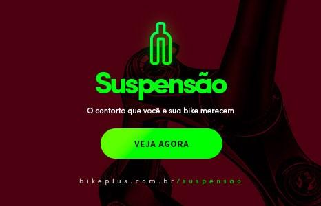 Suspensão de bike