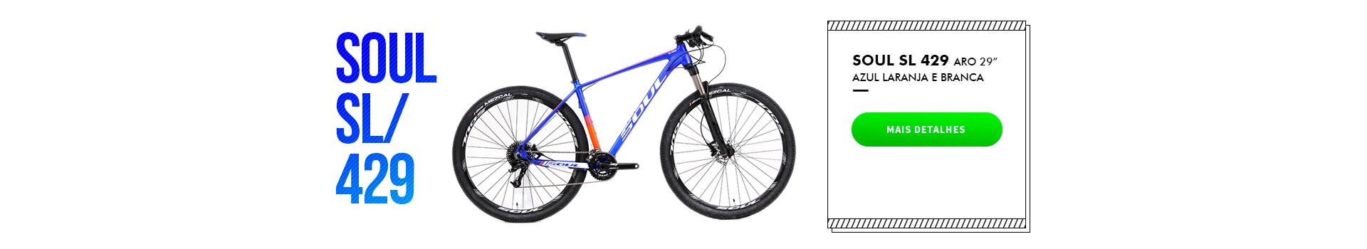 """Bike Soul SL 429 Aro 29"""""""