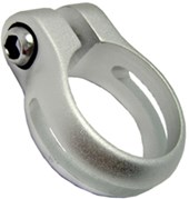Abraçadeira de Selim JD-081 31,8 mm Prata