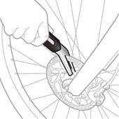 Alinhador de disco para Bike Topeak Rotor Tru TPS-SP24