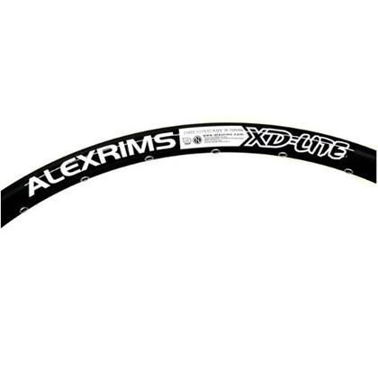 "Aro 26"" para Bike Alexrims XD-Lite Preto"