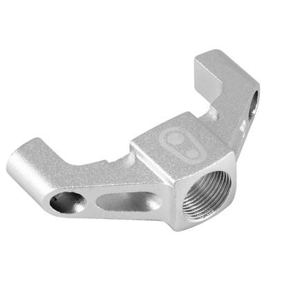 Base Externa Alumínio Pedal Crank Brothers Candy Prata