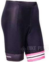 Bermuda Ciclismo Feminina Barbedo Ariadne Preto Pink