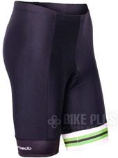 Bermuda Ciclismo Feminina Barbedo Ariadne Preto Verde