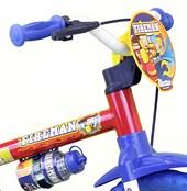 Bicicleta Infantil Aro 12 Nathor Fireman Vermelha Amarela e Azul