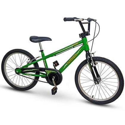 Bicicleta Infantil Aro 20 Nathor Army Verde