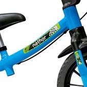 Bicicleta Infantil Equilíbrio Aro 12 Nathor Balance Azul