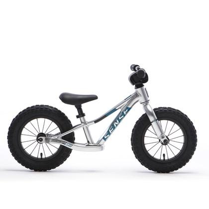 Bicicleta Infantil Equilíbrio Aro 12 Sense Grom Prata e Azul
