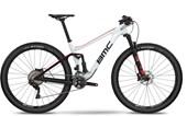 """Bike BMC Agonist 02 One XT/SLX Aro 29"""" Branca Preta e Vermelha"""