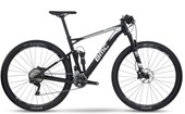 "Bike BMC Fourstroke FS02 XT Aro 29"" Preta e Branca"
