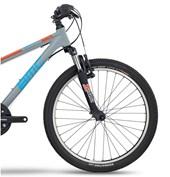 "Bike BMC Sport Elite SE Aro 24"" Cinza e Azul"