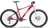 """Bike BMC Sport Elite SE Deore Aro 27,5"""" 2017 Vermelha e Branca"""