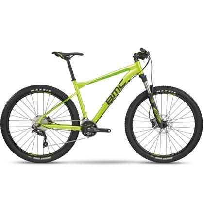 "Bike BMC Sport Elite Two Aro 27,5"" 2018 Verde e Preta"