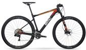 "Bike BMC Team Elite 01 XT DI2 Aro 29"" Preta Laranja e Vermelha"