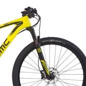 """Bike BMC Team Elite 02 Deore/SLX Aro 29"""" 2017 Amarela"""