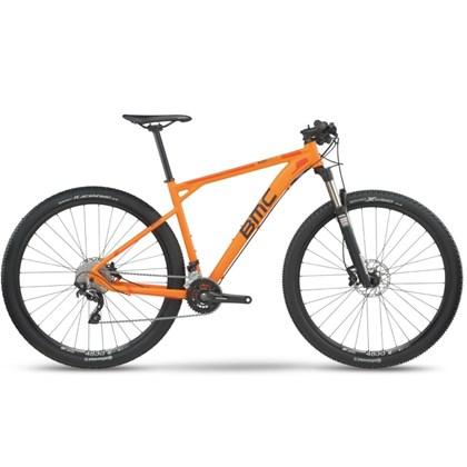 """Bike BMC Team Elite 03 Aro 29"""" 2017 Laranja"""