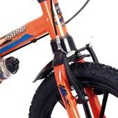 Bike Infantil Aro 16 Nathor Extreme Laranja e Preta
