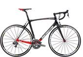 Bike Lapierre Xelius EFI 600 Carbon DI2 Preta e Vermelha
