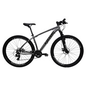 "Bike Lotus Aluminium 21v Aro 29"" 2020 Cinza e Preta"