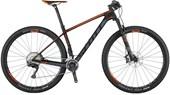"""Bike Scott Scale 910 Aro 29"""" 2017 Preta Cinza e Laranja"""