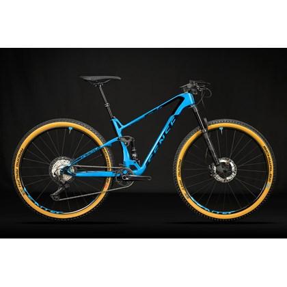 Bike Sense Carbon Invictus Evo XT 12v Aro 29 2021/22 Azul e Preta