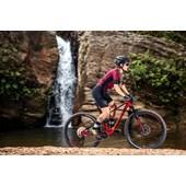 Bike Sense Carbon Invictus Pro Deore 12v Aro 29 2021/22 Vermelha Preta e Cinza