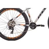 Bike Sense Fun Comp 16v Aro 29 2021/22 Prata Preta e Laranja