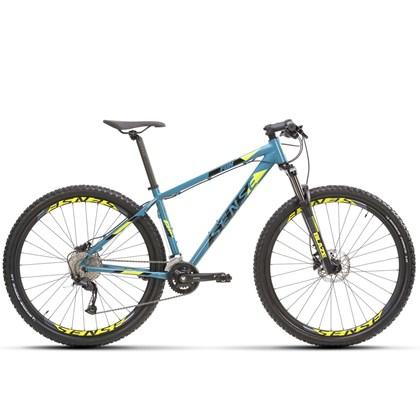 Bike Sense Fun Evo 18v Aro 29 2021/22 Azul e Amarela