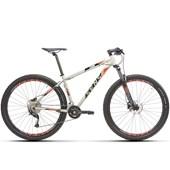 Bike Sense Fun Evo 18v Aro 29 2021/22 Cinza e Vermelha