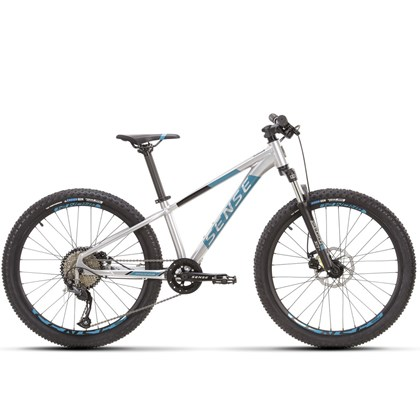 Bike Sense Grom Aro 24 2021/22 Prata e Azul