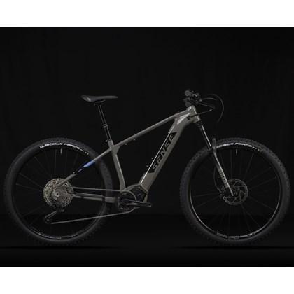 Bike Sense Impact E-Trail 12v 2021/22 Cinza Preta e Azul