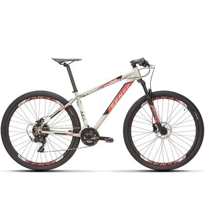 Bike Sense One 21v Aro 29 2021/22 Cinza e Rosa