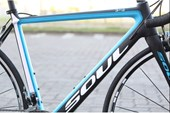 Bike Soul 3R2 Tiagra 2017 Preta Azul e Branca