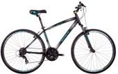 Bike Soul Amsterdam Aro 700 Cinza Preta Prata e Verde