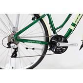 Bike Soul Amsterdam Retrô Aro 700 2018 Verde e Bege