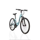 """Bike Soul Flow Aro 26"""" 2017 Azul e Marrom"""