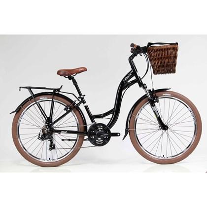 Bike Soul Flow One Aro 26 2018 Preta e Branca