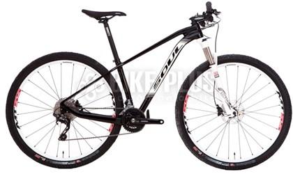 """Bike Soul Magma HT 129 Aro 29"""" 2017 Preta e Branca"""