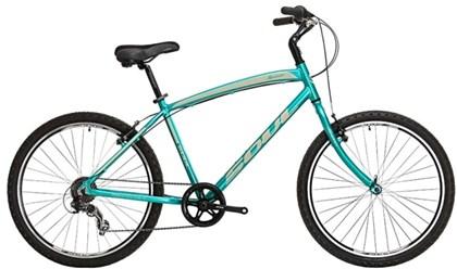 "Bike Soul Maresias Aro 26"" Verde e Bege"