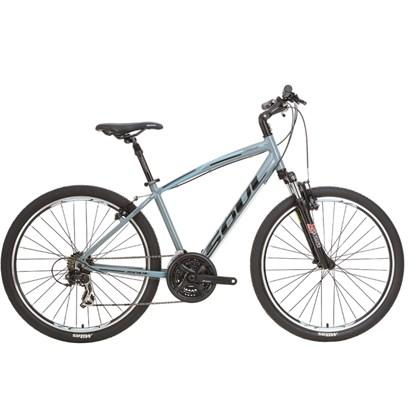 "Bike Soul Miracle Aro 26"" Cinza Preta e Azul"